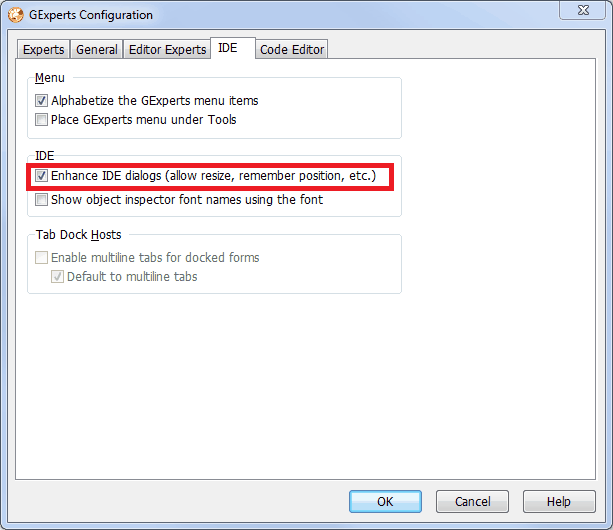 GExperts-configuration-ide-enhancements-enhance-dialogs